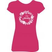 Dámské tričko - Tým nevěsty (květiny)