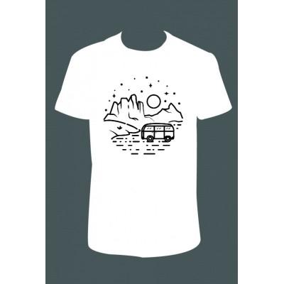 Pánské tričko - karavan