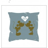 """Povlak na polštářek """"Mickey a Minnie LOVE"""""""
