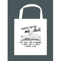 "Taška ""Každá kniha má duši."""