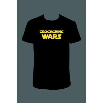 """Pánské tričko """"Geocaching WARS"""""""