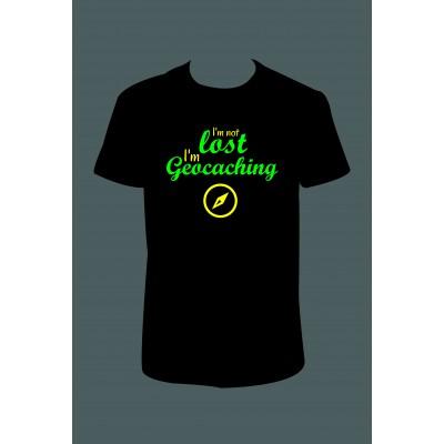 """Pánské tričko """"I'm Geocaching"""""""