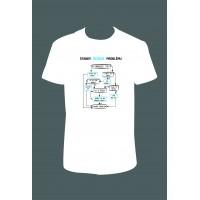 """Pánské tričko """"Standy řešení problému"""""""
