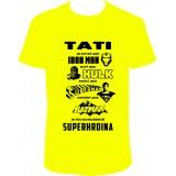 """Pánské tričko """"Táta superhrdina"""""""
