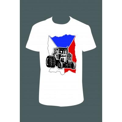 """Pánské tričko """"Traktor"""""""