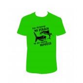 """Pánské tričko """"Čas strávený NA RYBÁCH se do života NEPOČÍTÁ"""""""