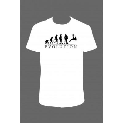 "Pánské tričko ""Evoluce - fotbalista"""