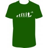 """Pánské tričko """"Evoluce - myslivec"""""""