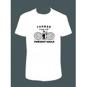 """Pánské tričko """"FARMÁŘ"""""""