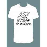 """Pánské tričko """"Na Bělehrad"""""""
