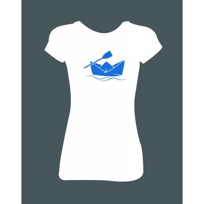 "Dámské tričko ""Loďka"""