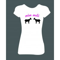 """Dámské tričko """"mám malé 'kozy' """""""
