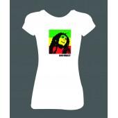 "Dámské tričko ""Bob Marley"""