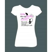 """Dámské tričko """"ŽENY, které mají KOČKY, jsou nejlepší partnerky..."""""""