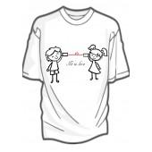 """Dámské/dětské tričko """"It is love"""""""