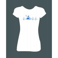 """Dámské tričko """"Love vodák"""""""