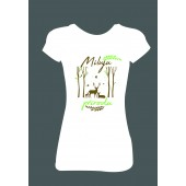 """Dámské tričko """"Miluju přírodu"""""""