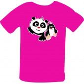 """Dětské tričko """"Krtek a panda"""""""