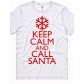 """KEEP CALM AND CALL SANTA"""