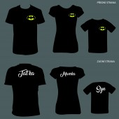 "Rodinná trička ""Batman Family"""