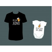 Rodinné pánské tričko + Body