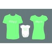 """Rodinné trička + Body """"Jsem toho důkaz"""""""