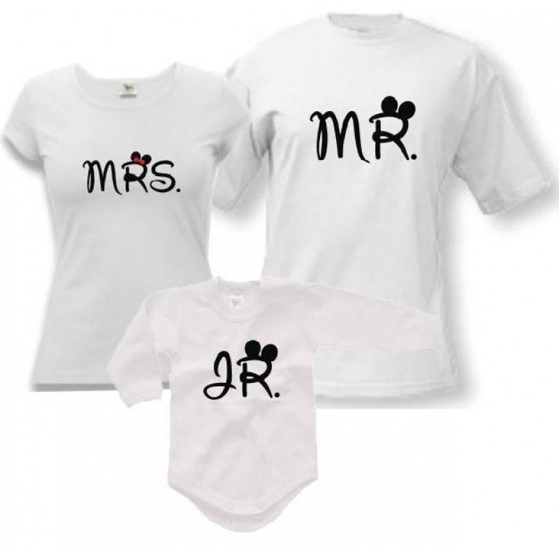 Rodinné trička + Body