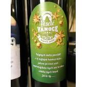 """Víno s etiketou """"VESELÉ VÁNOCE A ŠŤASTNÝ NOVÝ ROK...KAMARÁDKA"""""""
